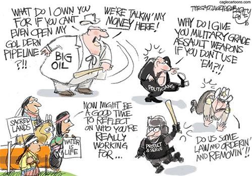 jpg Editorial Cartoon: Oil Overlords