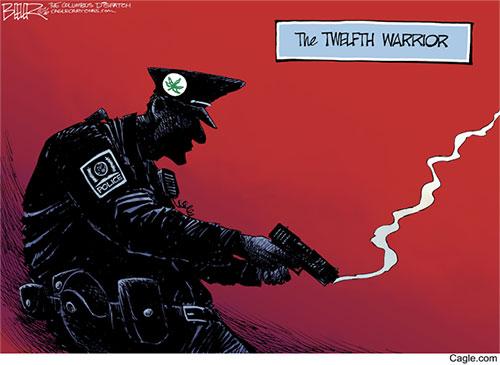 jpg Editorial Cartoon: Ohio State University Attack