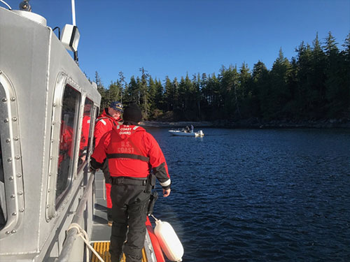 jpg Coast Guard assists boaters aboard disabled vessel near Ketchikan
