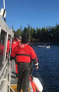 Coast Guard assists boaters aboard disabled vessel near Ketchikan