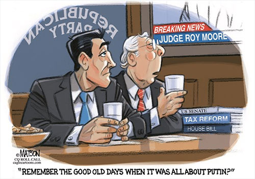jpg Political Cartoon: Good Old Days