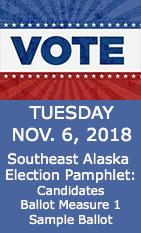 Vote Tuesday - November 06, 2018 - Ketchikan, Alaska