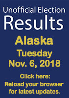 Unofficial Election Results 2018 - Alaska