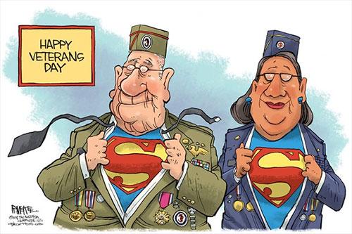 jpg Political Cartoon: Veterans Day Nov. 11, 2018