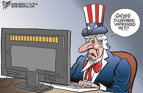 jpg Political Cartoon: Uncle Sam and Facebook
