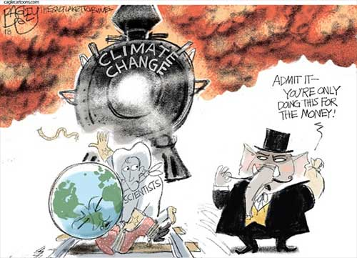jpg Political Cartoon: Climate Report