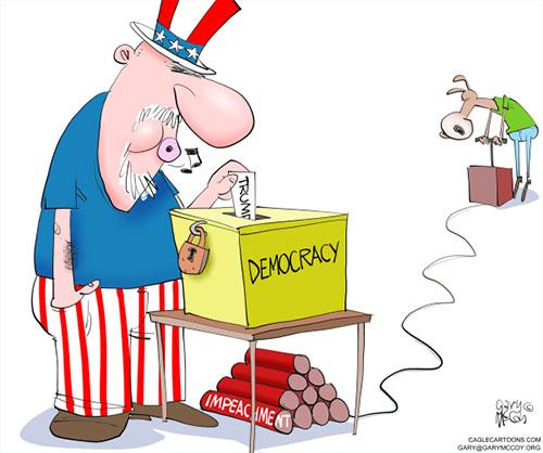 jpg Political Cartoon: Dems Impeach Democracy
