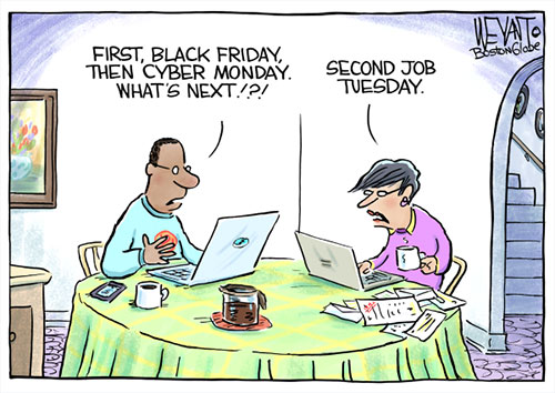 jpg Political Cartoon: Black Friday, Cyber Monday