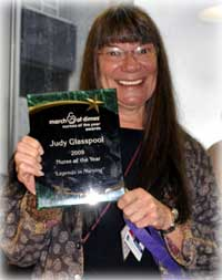 "udy Glasspool receives March of Dimes ""Legend"" Award"