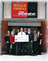 Wells Fargo Donates $15,000 to KGH Foundation