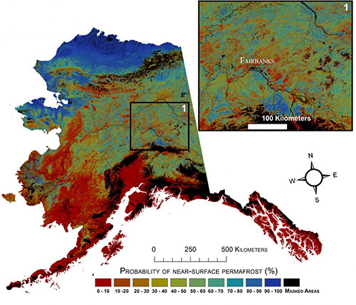 jpg Large Loss of Alaska Permafrost Projected by 2100