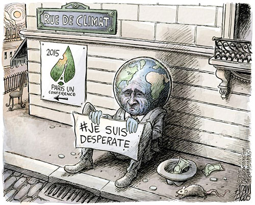 jpg Editorial Cartoon: Climate Change Conference