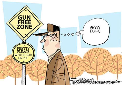 jpg Editorial Cartoon: Gun fantasy