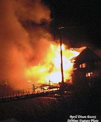 Craig Landmark Destroyed by Fire