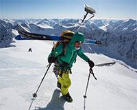 Measuring the highest peaks in the Brooks Range