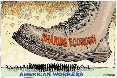jpg Editorial Cartoon: The Sharing Economy