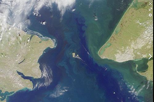 jpg Satellite photo of the Bering Strait