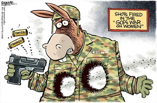 jpg Political Cartoon: Shots Fired