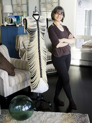 jpg Salmon bones inspire wearable art, new museum piece
