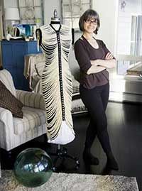 Salmon bones inspire wearable art, new museum piece