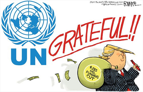 jpg Political Cartoon: Ungrateful UN
