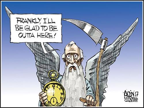 jpg Political Cartoon: Goodbye to 2017