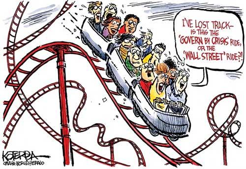 jpg Political Cartoon: A Wild Ride