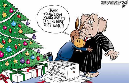 jpg Political Cartoon: Obamacare ruling
