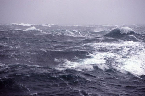 jpg Wind-driven whitecaps churn the waters of the Bering Sea.