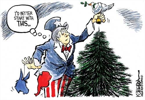 jpg Political Cartoon: First Things First