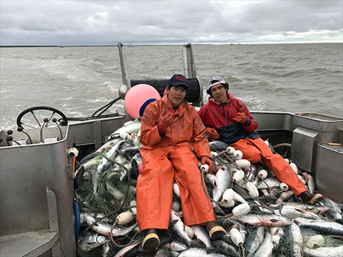 Man of Salmon; An Interview with Triston Chaney