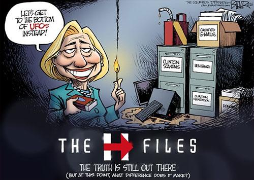 jpg Would President Hillary Clinton Spill Area 51 Secrets?