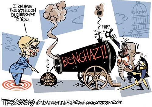 jpg Goodbye, Benghazi Sleuths. Take Your Tinfoil Hats.