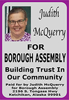 Judity McQuerry for Ketchikan Borough Assembly 2016