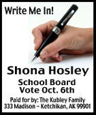 Shona Hosley for Ketchikan School Board