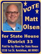 Matt Olsen for State House District 33