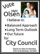 Matt Olsen for Ketchikan City Council