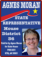 Agnes Moran for State House, District 36 - Ketchikan, Alaska