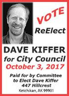 ReElect Dave Kiffer Ketchikan City Countil 2017