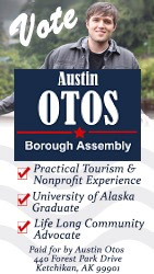 Austin Otos for Ketchikan Borough Assembly 2019