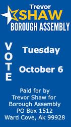 Trevor Shaw for Ketchikan Borough Assembly 2020