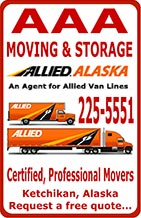 AAA Moving & Storage - Allied Alaska - Ketchikan, Alaska