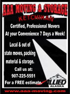 AAA Moving & Storage - Ketchikan, Alaska