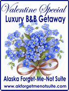 Alaska For-get-me-not Suite, B&B Ketchikan, Alaska