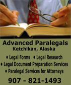 Advanced Paralegals - Ketchikan, Alaska