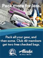 Alaska Airlines - Pack More For Less