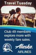 Alaska Airlines - Travel Tuesday - Explore more with weekly fare sales.