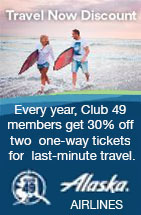 Alaska Airlines - Travel Now Discount