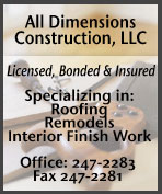 All Dimensions Construction - Ketchikan, Alaska