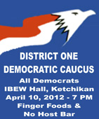District One Democratic Caucus, Ketchikan, Alaska